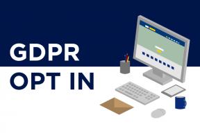 GDPR Opt-in