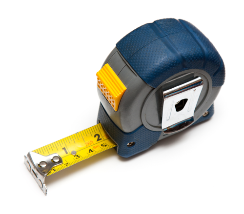 Installer's tape measure